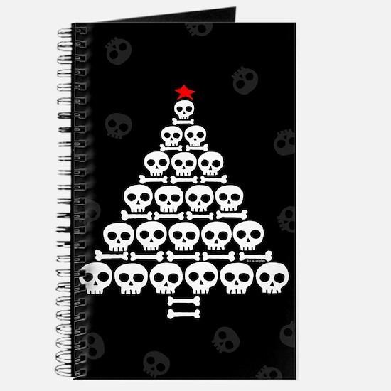 Skull Xmas Tree Journal