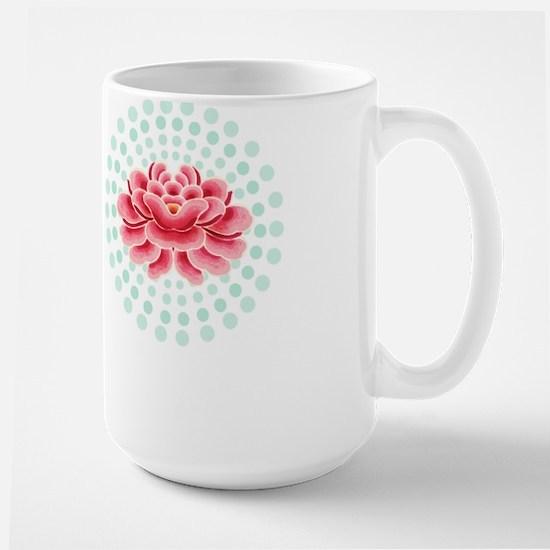 Big Lotus Morning Mug