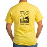 Men's Ab Concepts Yellow Dbl T-Shirt