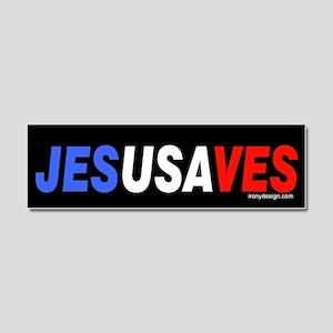 Jesus Saves Car Magnet 10 x 3