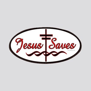 Jesus Saves Patches