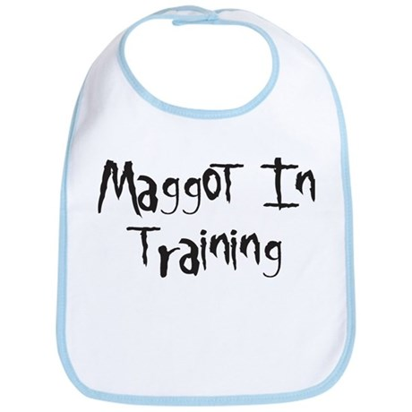 Maggot In Training Bib