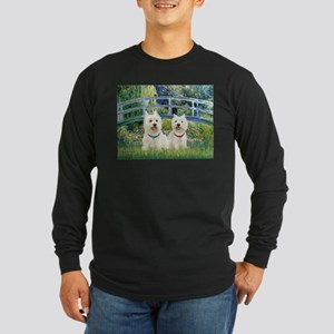 Bridge-2 Westies Long Sleeve Dark T-Shirt