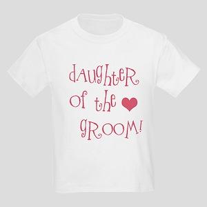 Daughter of the Groom Kids Light T-Shirt