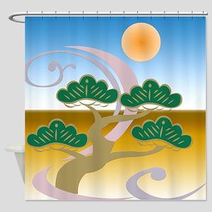 Surreal Bonsai Shower Curtain