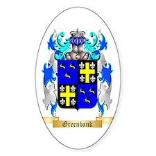 Greenbank Sticker (Oval)