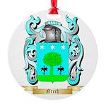 Grech Round Ornament