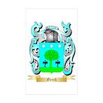 Grech Sticker (Rectangle 50 pk)