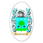 Grech Sticker (Oval 10 pk)