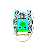 Grech 35x21 Oval Wall Decal