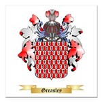 Greasley Square Car Magnet 3