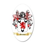 Greaney 20x12 Oval Wall Decal