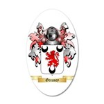 Greaney 35x21 Oval Wall Decal