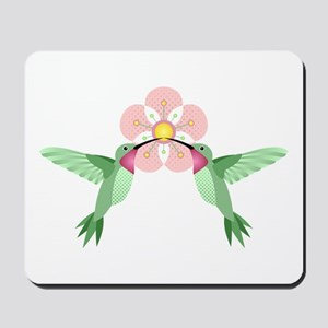 Hummingbird Blossom Mousepad