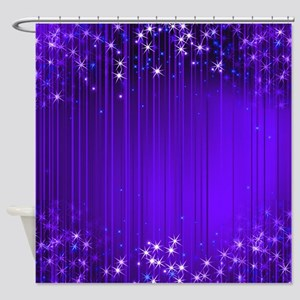 Star Beams 2- Shower Curtain