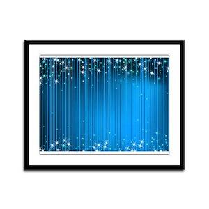 Star Beams- Framed Panel Print