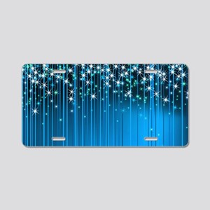 Star Beams- Aluminum License Plate