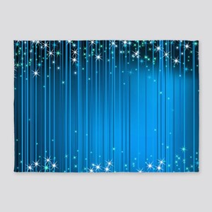 Star Beams- 5'x7'area Rug