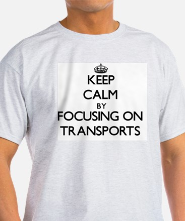 Keep Calm by focusing on Transp T-Shirt