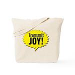 Transmit Joy In A Tote Bag