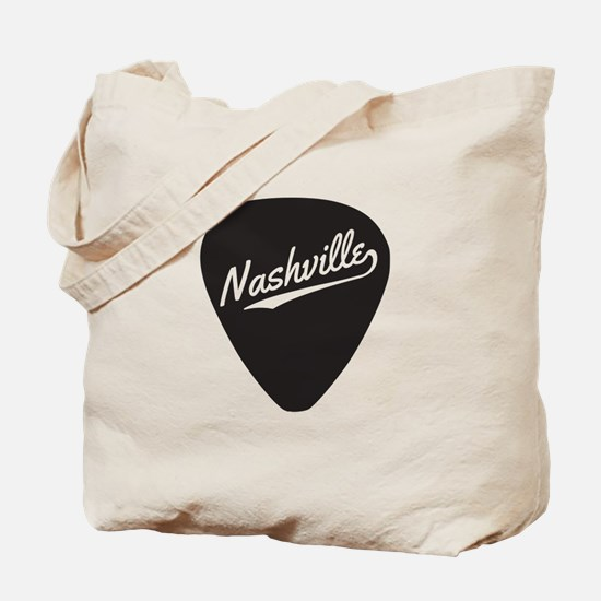 Nashville Guitar Pick Tote Bag