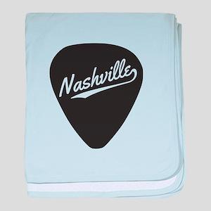 Nashville Guitar Pick baby blanket