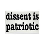 Dissent Is Patriotic Rectangle Magnet (10 pack)