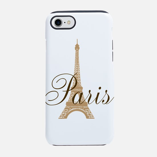Paris Always (chocolat) iPhone 7 Tough Case
