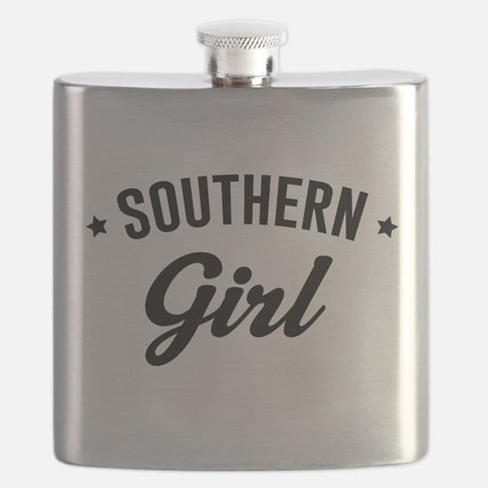 Souther girl Flask