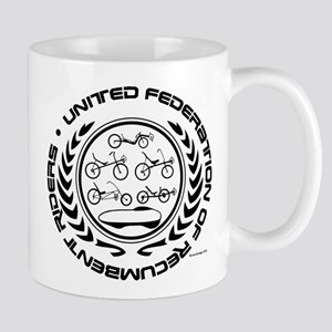 United Federation of Recumbent Riders Mugs