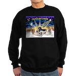 XSunrise-5Dogs Sweatshirt (dark)