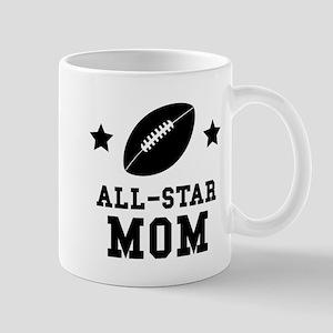 All Star Football Mom Mugs