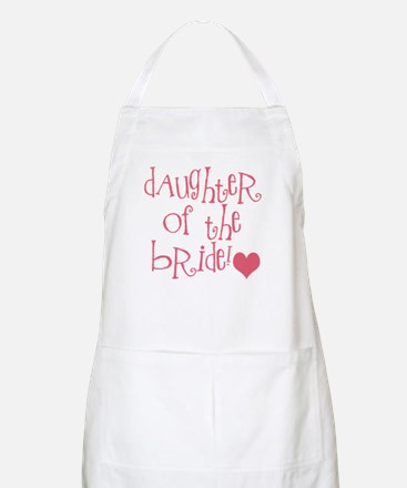 Daughter of the Bride BBQ Apron
