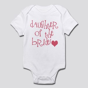 Daughter of the Bride Infant Bodysuit