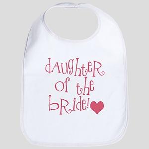 Daughter of the Bride Bib