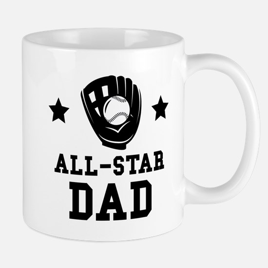 All Star Softball Dad Mugs