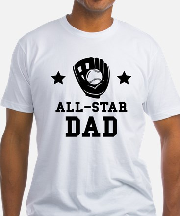 All Star Softball Dad T-Shirt