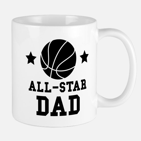 All Star Basketball Dad Mugs