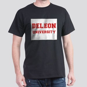 DELEON UNIVERSITY Dark T-Shirt