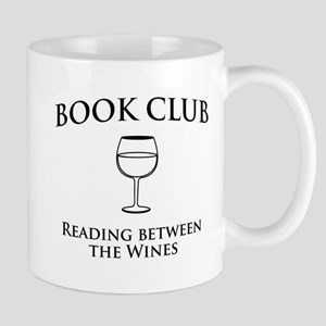 Book Club Reading Between The Wines. Mugs