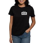 Ring Bearer Nametag (black) Women's Dark T-Shirt