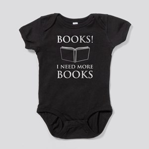 Books! I need more books. Baby Bodysuit