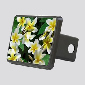Plumeria Flowers Hitch Cover