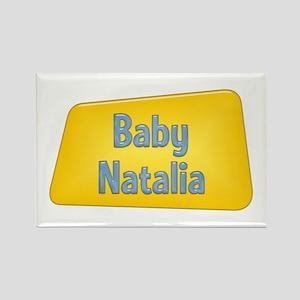 Baby Natalia Rectangle Magnet