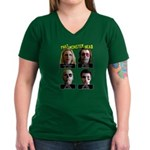 Women's V-Neck Phat Mug Shot T-Shirt