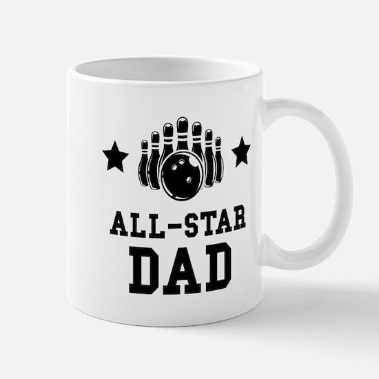 All Star Bowling Dad Mugs