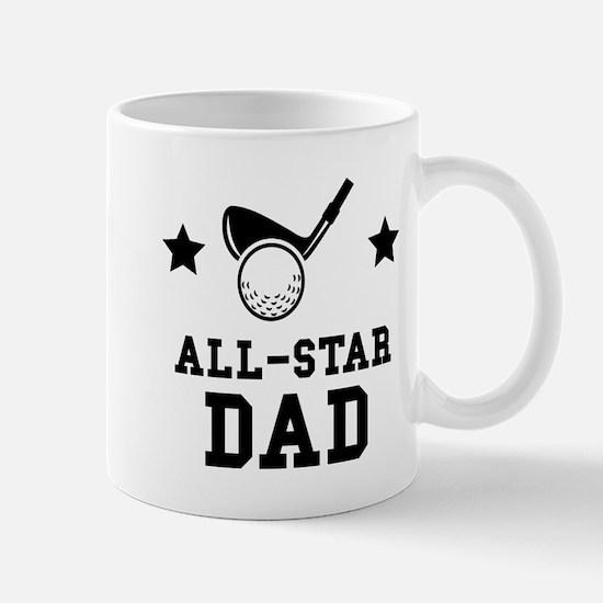 All Star Golf Dad Mugs