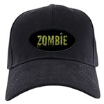 Zombie Black Cap With Patch