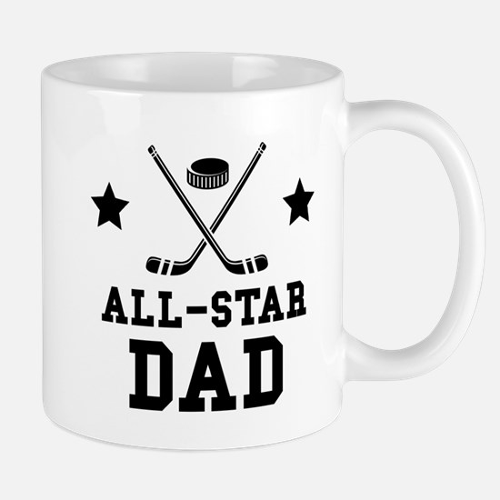 All Star Hockey Dad Mugs