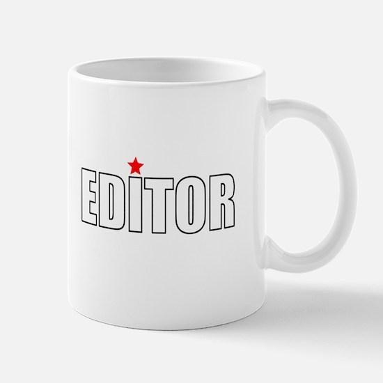The Editor Mugs
